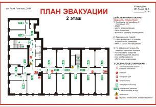 Планы эвакуации новые